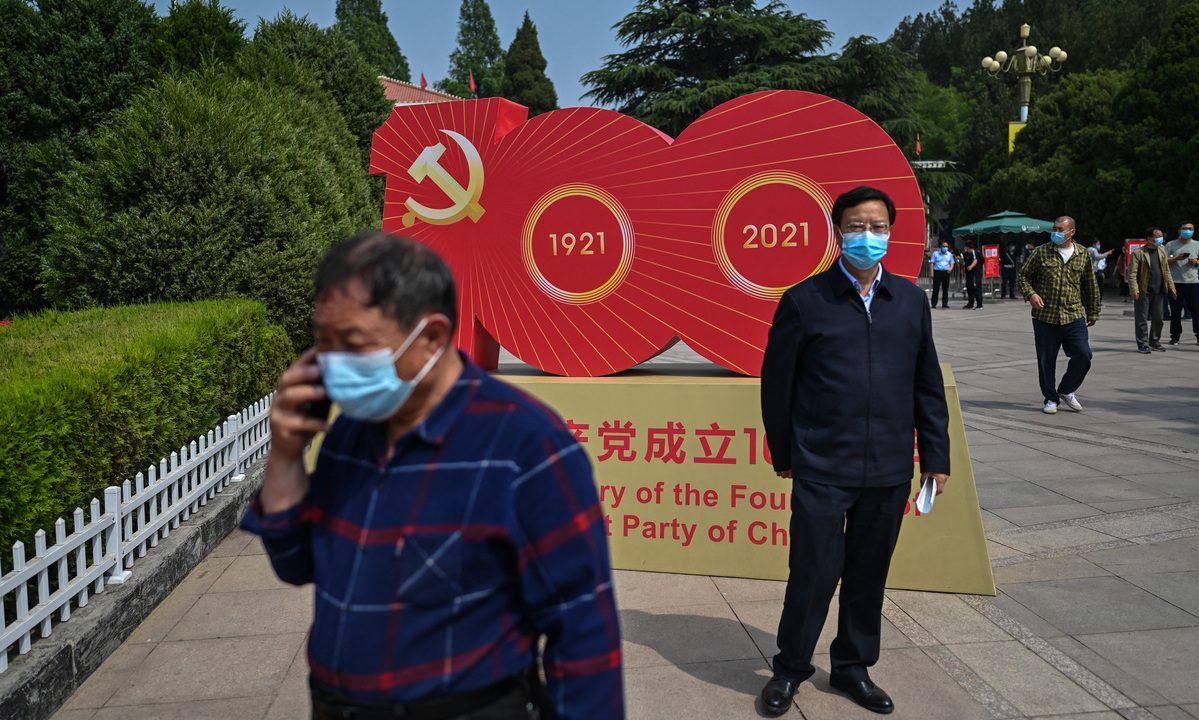 Partido Comunista da China completa 100 anos em julho. Foto: Hector Retamal/AFP