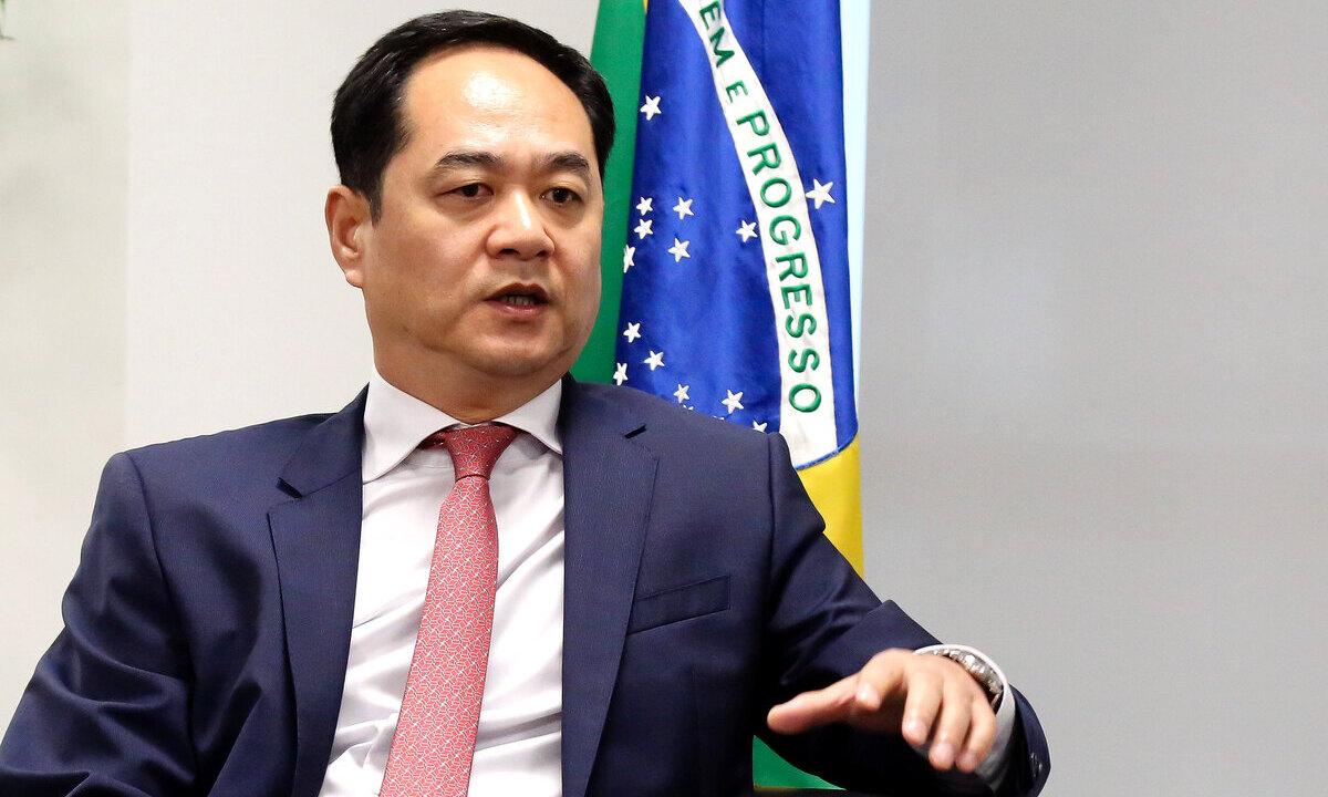 O embaixador da China, Yang Wanming. Foto: Romulo Serpa/Agência CNJ
