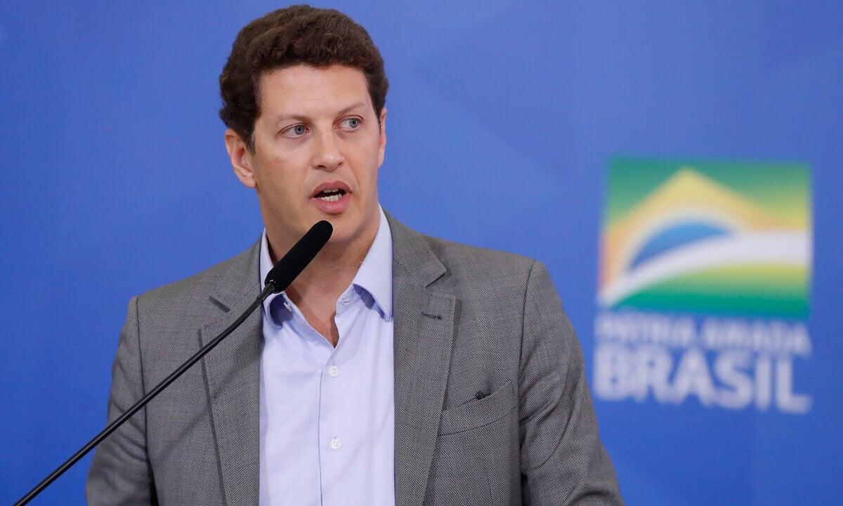 O ministro Do Meio Ambiente, Ricardo Salles. Foto: Alan Santos/PR