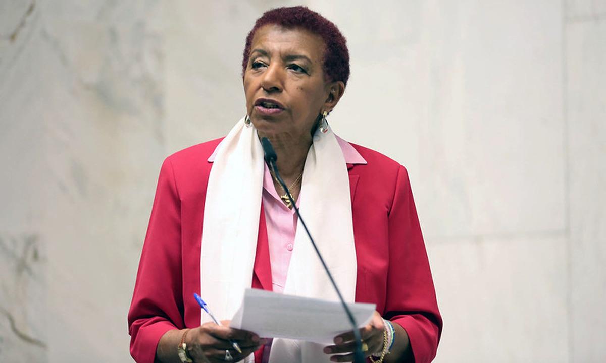 A deputada estadual Leci Brandão (PCdoB-SP). Foto: Assessoria