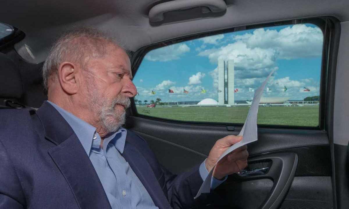 O ex-presidente Luiz Inácio Lula da Silva (PT) anunciou volta de Brasília nesta sexta-feira 7. Foto: Ricardo Stuckert