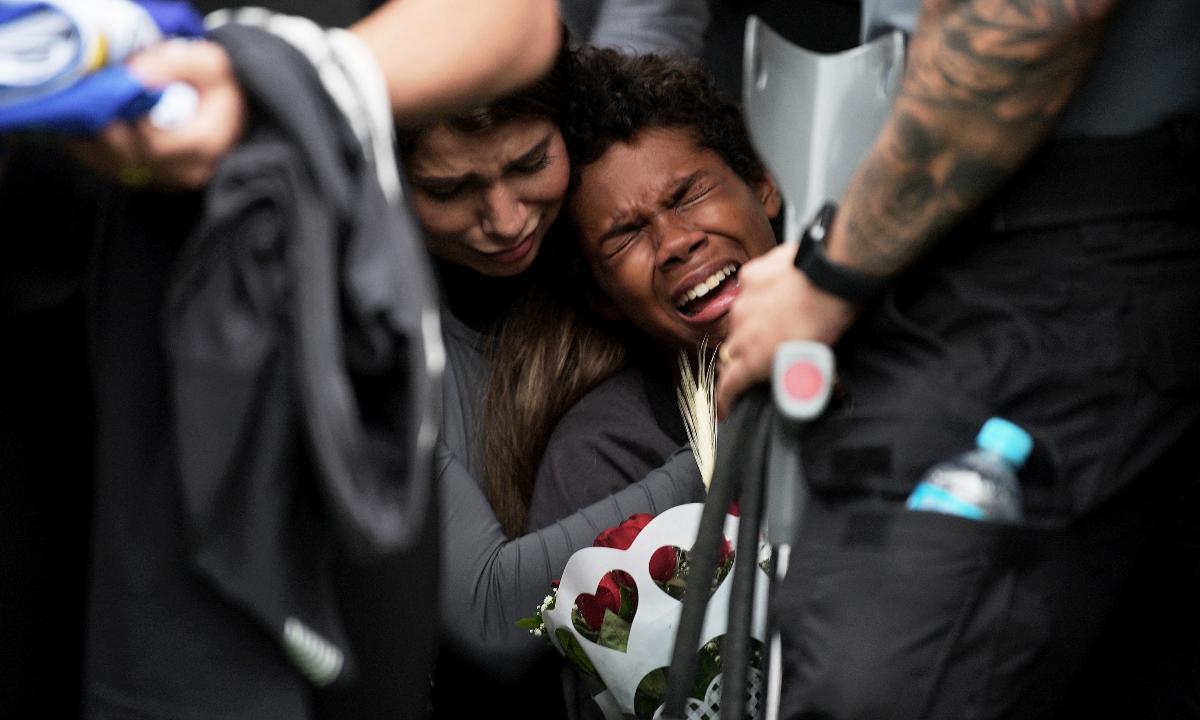 Chacina no RJ deixa 28 mortos na favela do Jacarezinho. Foto: CARL DE SOUZA / AFP