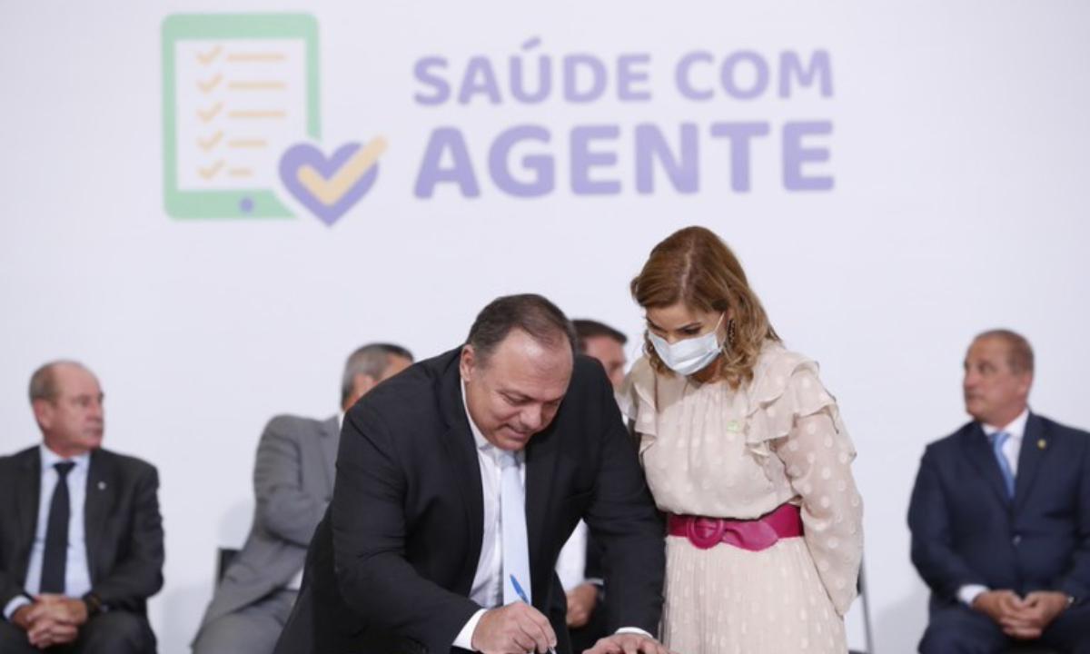Mayra Pinheiro, secretária de Gestão do Trabalho do Ministério da Saúde Foto: Alan Santosl/PR