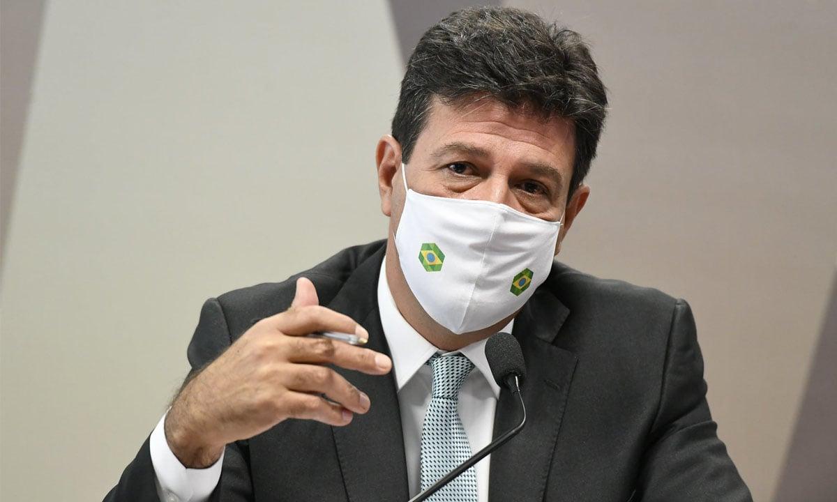 O ex-ministro Luiz Henrique Mandetta. Foto: Jefferson Rudy/Agência Senado