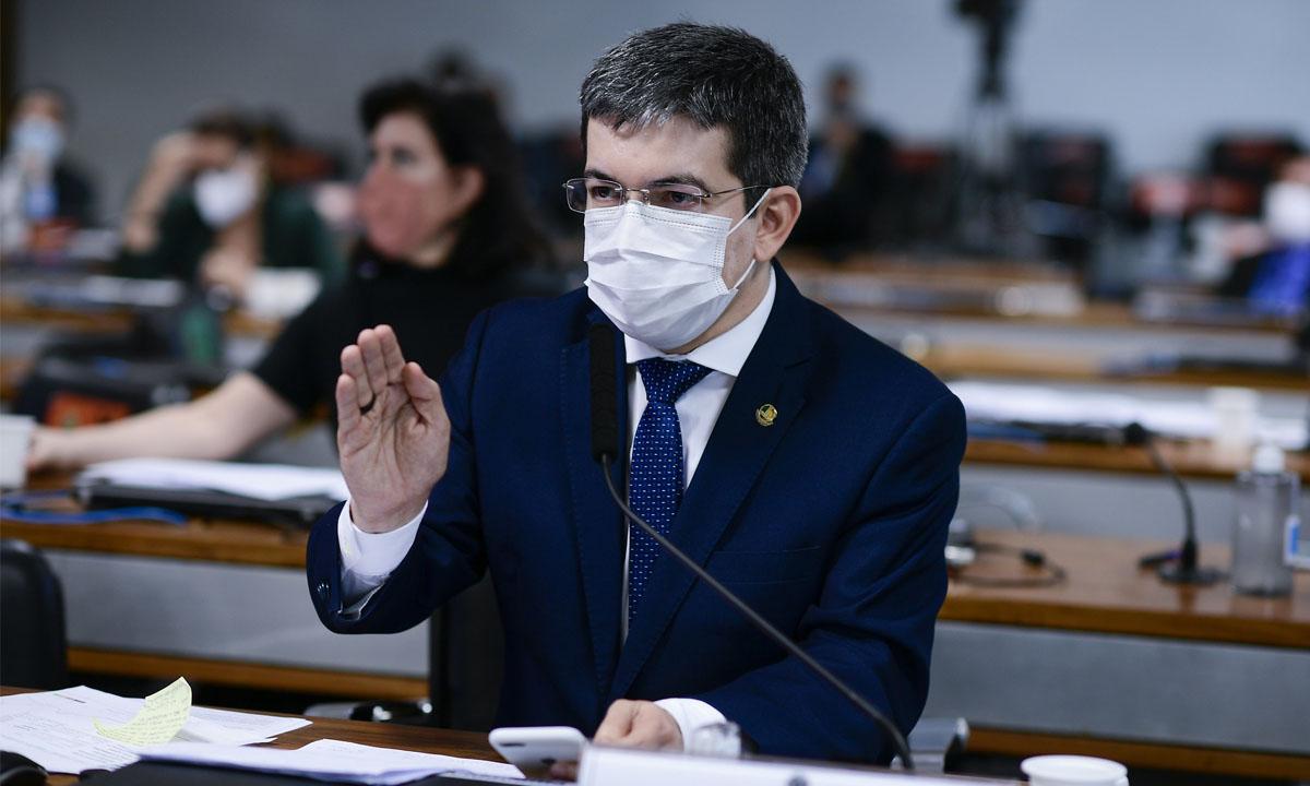 O senador Randolfe Rodrigues. Foto: Pedro França/Agência Senado
