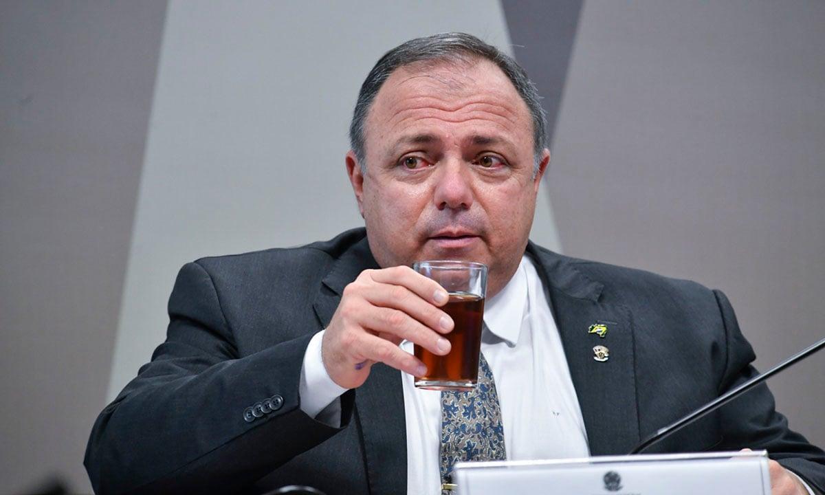 O ex-ministro da Saúde Eduardo Pazuello. Foto: Leopoldo Silva/Agência Senado