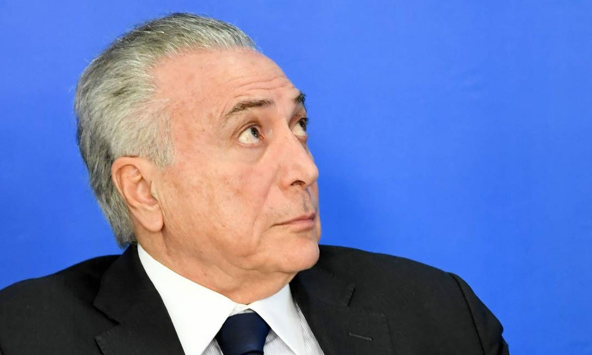 O ex-presidente Michel Temer. Foto: AFP