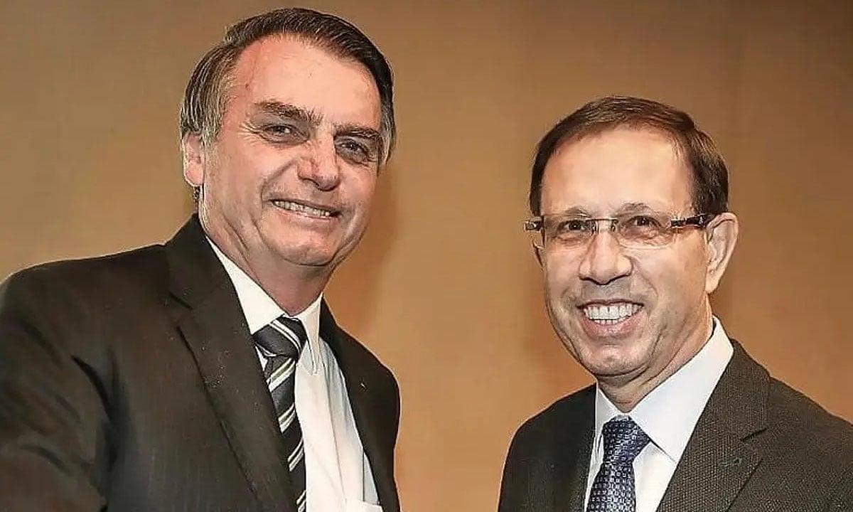 Jair Bolsonaro e Carlos Wizard. Foto: Reprodução/Redes Sociais