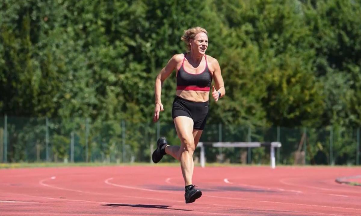 A atleta italiana Valentina Petrillo. Foto: Reprodução/RFI