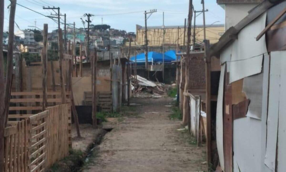 Área com mais de 500 pessoas é reivindicada pela Igreja Internacional da Graça de Deus. Foto: Arquivo