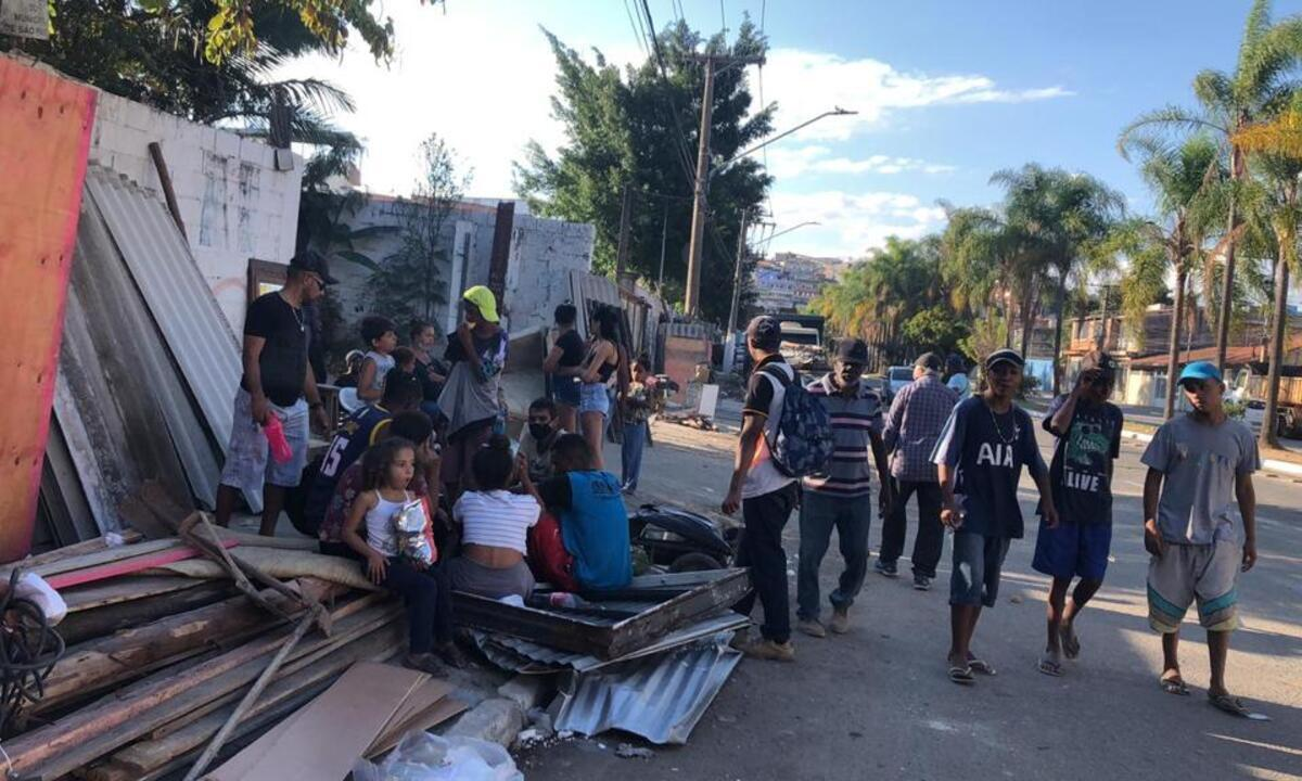 Ocupação foi desmontada após pedido desintegração de posse feito pela Igreja Internacional da Graça de Deus. Foto: Arquivo/Karina Andrade