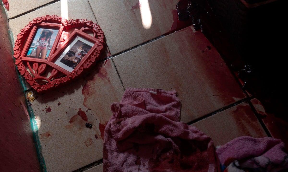 Foto de quarto de criança onde homem foi executado pela polícia na Chacina de Jacarezinho (Foto: MAURO PIMENTEL / AFP)