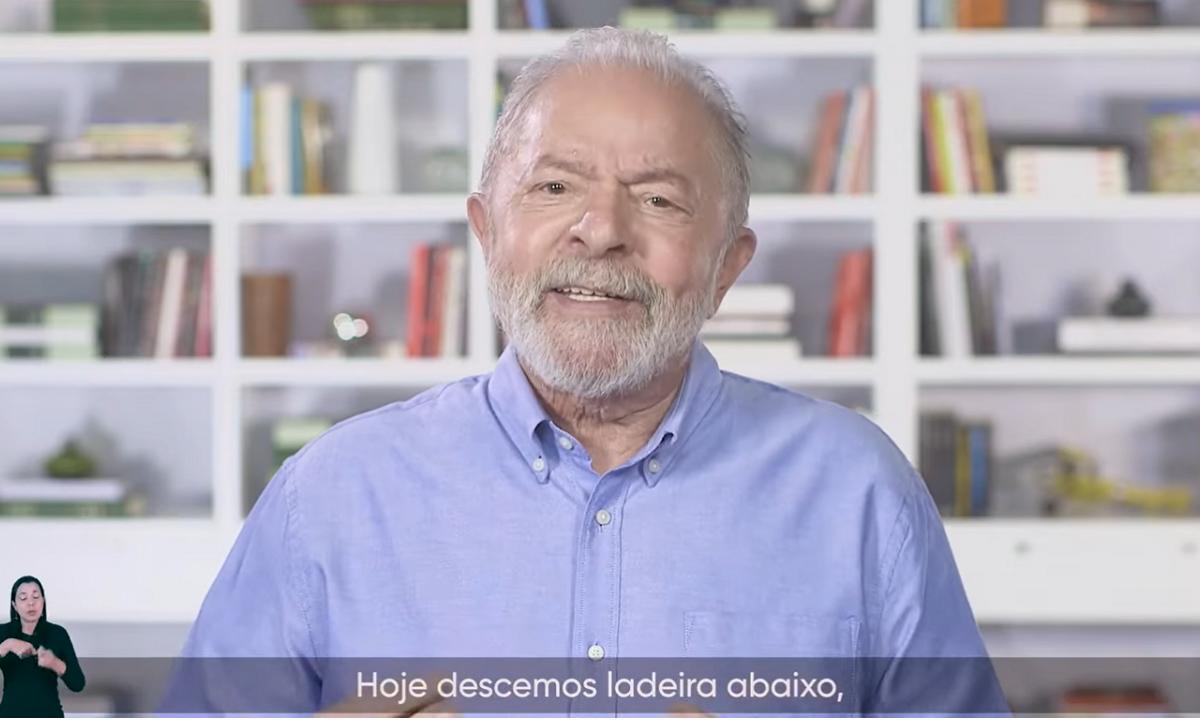 Em 'live' do 1º de Maio, Lula acena a uberizados e critica Moro e Bolsonaro