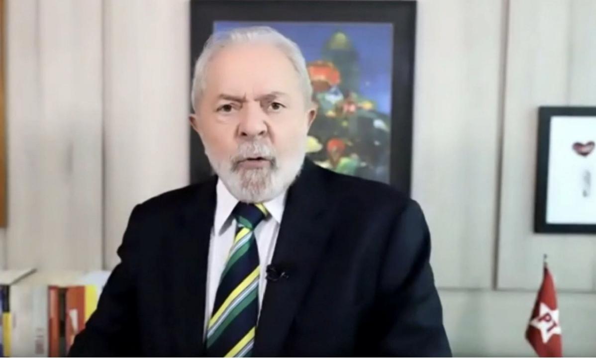A TV americana, Lula comenta Datafolha e evoca vitória de Biden contra Trump