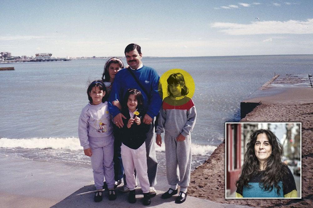 """Consciência. Analía Kalinec,  ao contrário das irmãs, rompeu relações com o pai, o """"Doutor K"""", condenado à prisão perpétua. (FOTO: Arquivo pessoal)"""