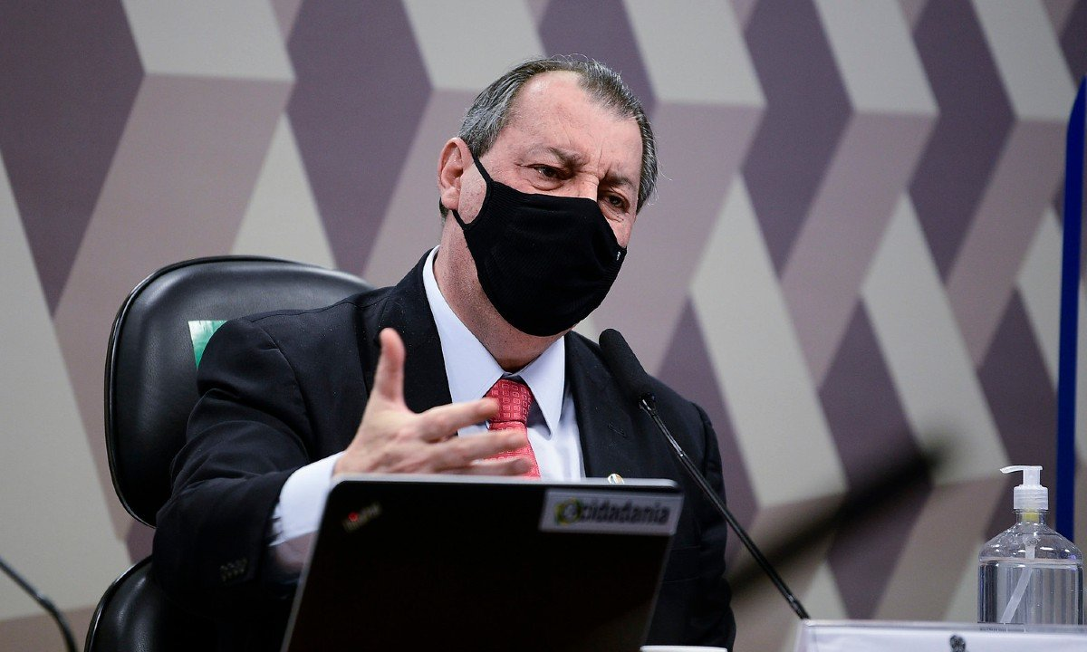 O senador Omar Aziz (PSD-AM). Foto: Pedro França/Agência Senado