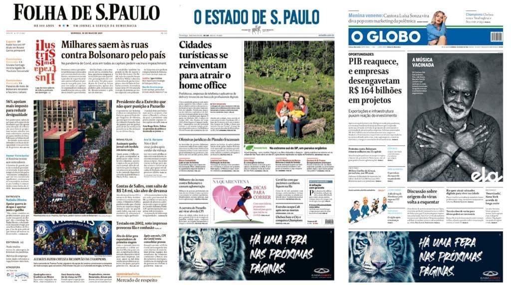 A mobilização #ForaBolsonaro e o silenciamento da mídia tradicional
