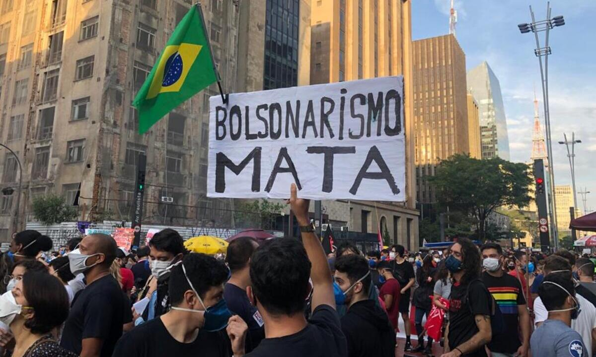 Atos em 29 de maio reuniram milhares de manifestantes contra Bolsonaro. Foto: Allan White/Fotos Públicas