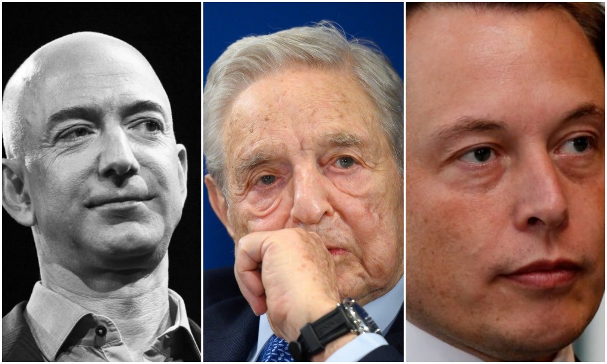 Bezos, Musk e outros bilionários se livraram do imposto de renda nos EUA