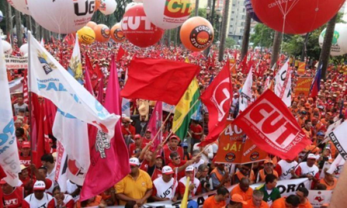 Organizações querem orientar trabalhadores sobre protocolos sanitários para 19 de junho, diz nota. Foto: Reprodução/CUT