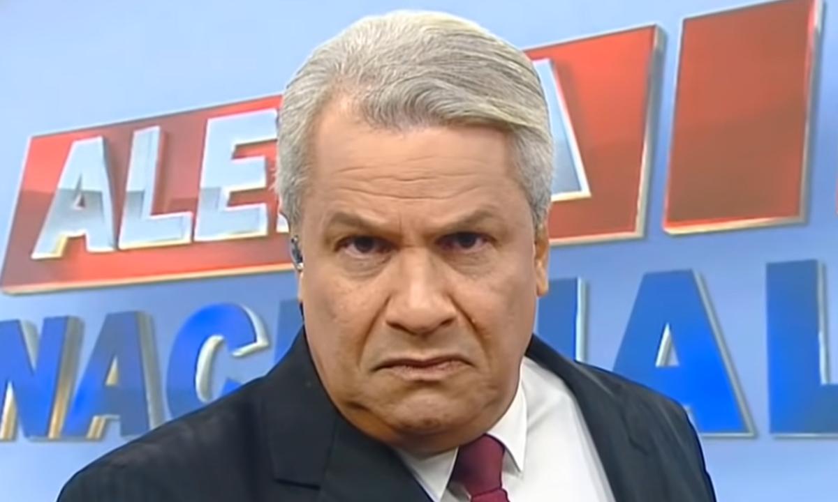 Sikêra Jr., apresentador, instigou discurso de ódio na televisão contra LGBTs. Foto: Reprodução