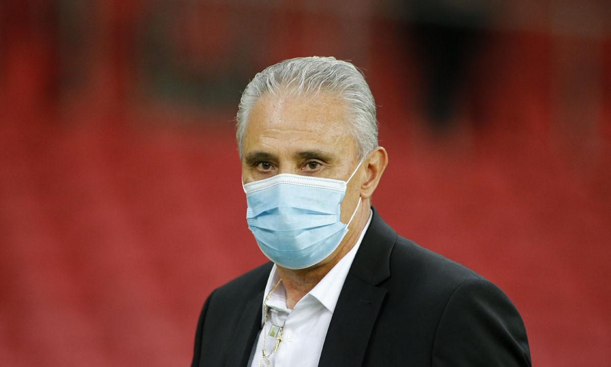 Tite, técnico da seleção brasileira de futebol masculino. Foto: SILVIO AVILA / AFP