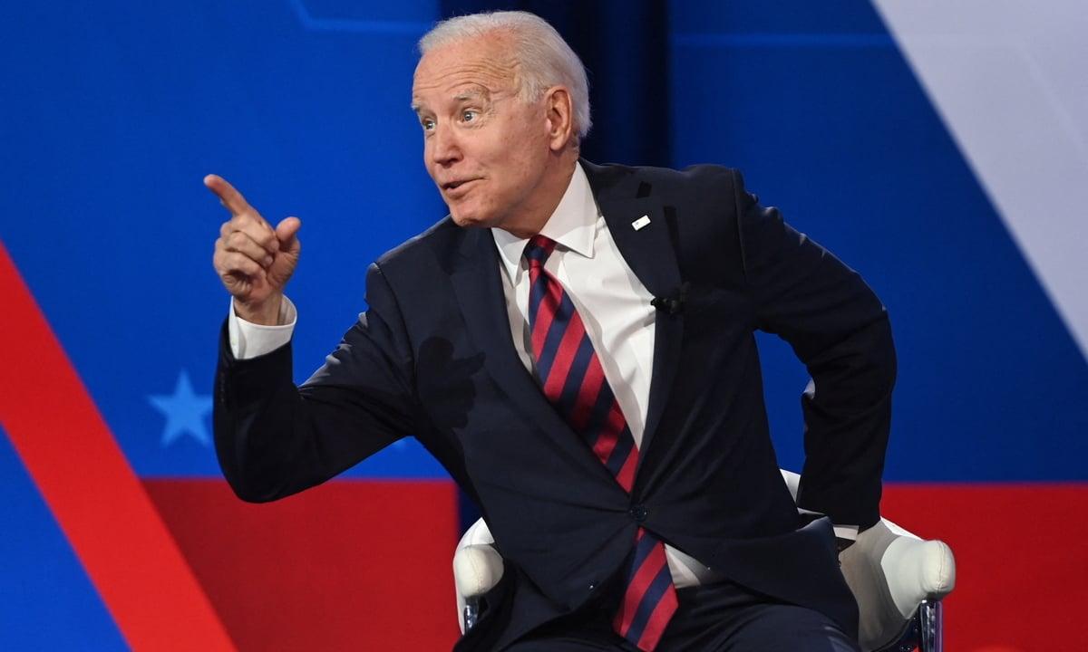 O presidente dos Estados Unidos, Joe Biden. Foto: Saul Loeb/AFP