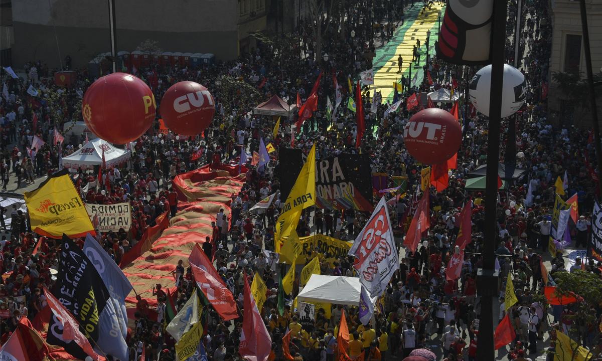 Grito dos Excluídos pede democracia e impeachment; em SP, Bolsonaro é  chamado de 'ladrão de vacina' - CartaCapital